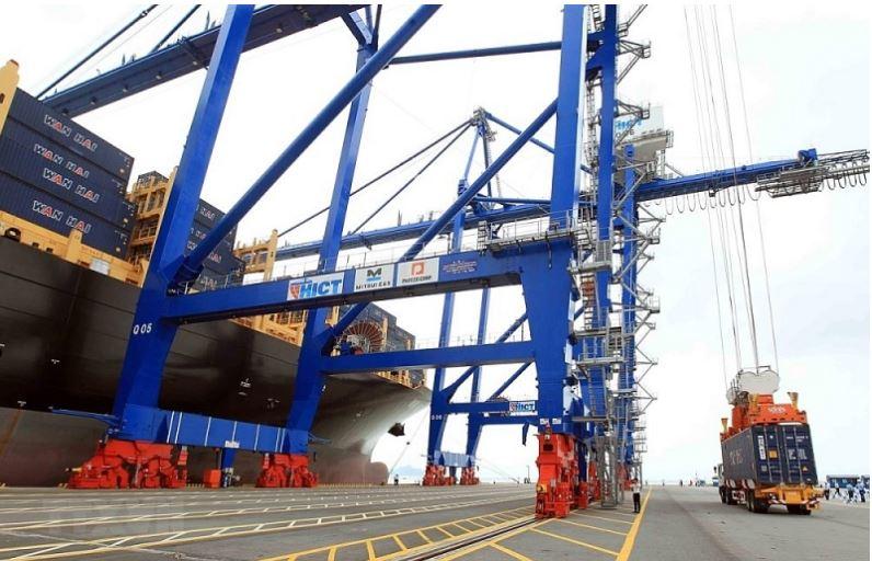 Hoạt động xuất nhập khẩu tại Cảng container quốc tế Hải Phòng